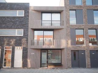 8A Architecten Casas modernas Madera Acabado en madera