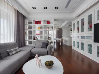 Glocal Architecture Office (G.A.O) 吳宗憲建築師事務所/安藤國際室內裝修工程有限公司 Phòng khách