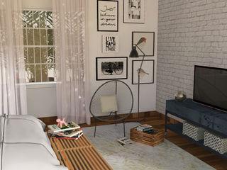 Patrícia Nobre - Arquitetura de Interiores Scandinavian style bedroom