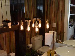 Um Lavabo Impactante DecaZa Design BathroomMirrors Paper Multicolored