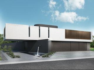Proa Arquitectura Moderne slaapkamers Gewapend beton