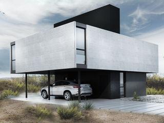 Proa Arquitectura Minimalistische slaapkamers Metaal Wit