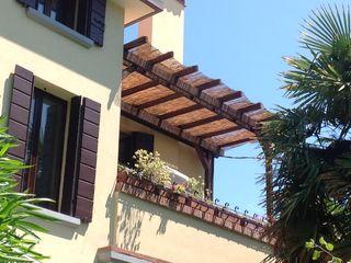 Pergolato per terrazzo su misura ONLYWOOD Balcone, Veranda & TerrazzoAccessori & Decorazioni