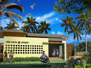 Villa Travis in Bali Evolver Architects
