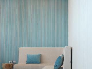 Lounge - Shopping 8ªAvenida MOYO Concept Centros Comerciais modernos Derivados de madeira Azul