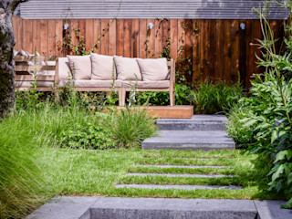 Walthamstow Project Tom Massey Landscape & Garden Design Giardino moderno