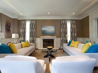 Bright Contemporary Home Douglas Design Studio Modern living room Beige