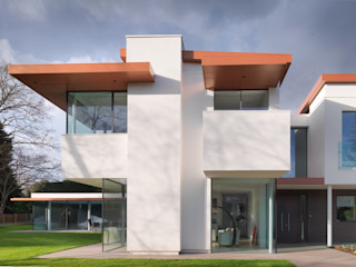 White House 3s architects and designers ltd Modern Houses