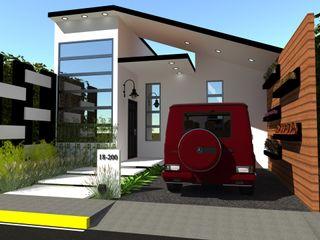 N.A. ARQUITECTURA Modern houses