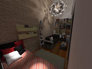 N.A. ARQUITECTURA Modern living room