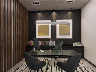 Taller Interno Phòng học/văn phòng phong cách hiện đại