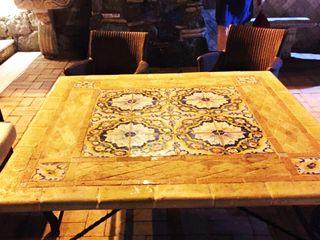 GARDEN TABLES - TAVOLI DA GIARDINO La Fleche Design GiardinoMobili Ceramica