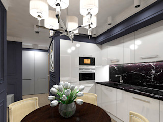 AM Design Klassische Küchen Marmor Weiß