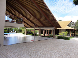 Guilherme Elias Arquiteto Casas rurales Madera Beige