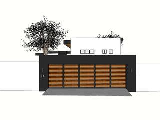 Graftink Interior and Architectural Design Studio Garage/Rimessa in stile moderno