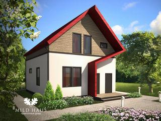 Mild Haus Casas de estilo minimalista Blanco