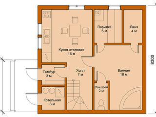 Mild Haus Casas de estilo minimalista