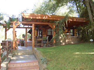 RUSTICASA Casas de madera Madera maciza Acabado en madera