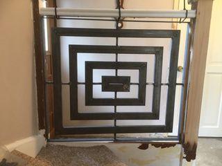 Staircase ZENTIA Corridor, hallway & stairs Stairs Iron/Steel Metallic/Silver