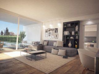 Concept House UT Ivan Rivoltella Soggiorno moderno
