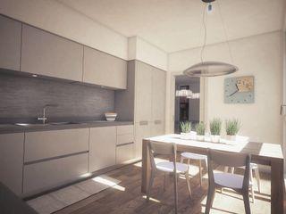 Concept House UT Ivan Rivoltella Cucina moderna