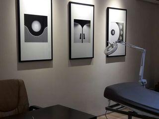 SPASIUM Kunst Bilder & Gemälde Papier Schwarz