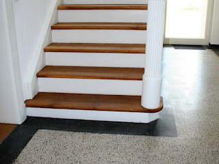Stumpf Parkett GmbH Classic style corridor, hallway and stairs Wood