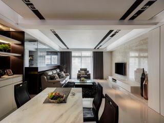 築一國際室內裝修有限公司 Столовая комната в классическом стиле