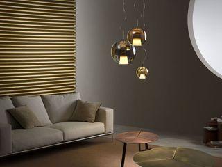 Lampcommerce Salas/RecibidoresIluminación Metálico/Plateado