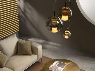 Lampcommerce DormitoriosIluminación Ámbar/Dorado