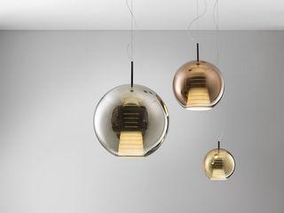 Lampcommerce Vestíbulos, pasillos y escalerasIluminación Metálico/Plateado