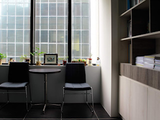 築一國際室內裝修有限公司 Офисы и магазины в стиле модерн