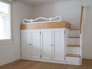 Recuperare spazio con letti a ponte attrezzati. Falegnameria Grelli Camera da letto in stile classico