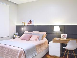 Ambientta Arquitetura Skandinavische Schlafzimmer
