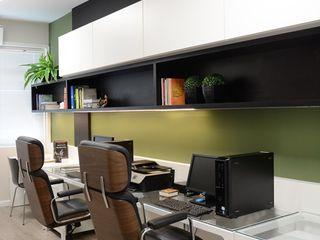 Ambientta Arquitetura Minimalistische Arbeitszimmer