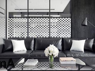 MENTAL ARC DESIGN SalonesAccesorios y decoración Madera Negro