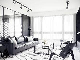 MENTAL ARC DESIGN SalonesAccesorios y decoración Compuestos de madera y plástico Negro