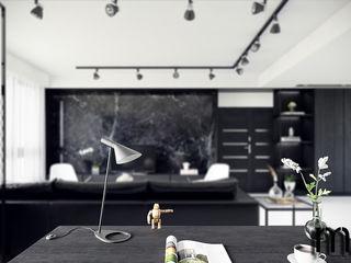 MENTAL ARC DESIGN SalonesAccesorios y decoración Hierro/Acero Negro