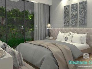 Stephanie Guidotti Arquitetura e Interiores Classic style bedroom Grey