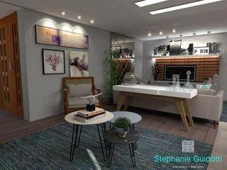Stephanie Guidotti Arquitetura e Interiores Modern Living Room