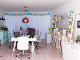 Citlali Villarreal Interiorismo & Diseño Modern offices & stores