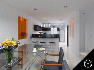 Proyéctica Arquitectos 現代廚房設計點子、靈感&圖片