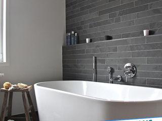 Antalya Fayans Ustası - 0 546 737 07 38 現代浴室設計點子、靈感&圖片 陶器 Brown