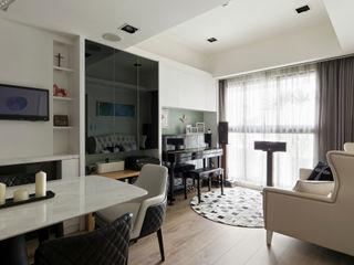 耀昀創意設計有限公司/Alfonso Ideas Classic style living room