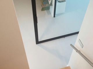 Architectenbureau Ron Spanjaard BNA Modern corridor, hallway & stairs