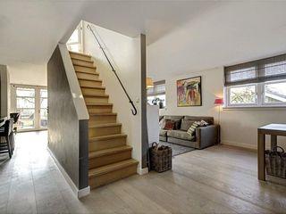 Architectenbureau Ron Spanjaard BNA Industrial style corridor, hallway and stairs