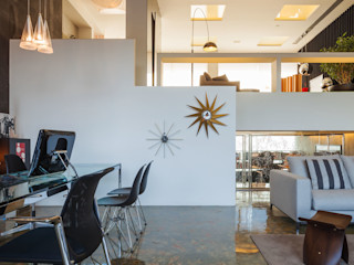 INAIN Interior Design Corredores, halls e escadas modernos