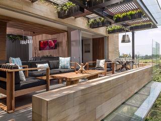 BARDASANO ARQUITECTOS Moderner Balkon, Veranda & Terrasse