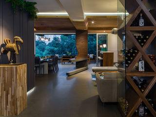 BARDASANO ARQUITECTOS Moderne Wohnzimmer