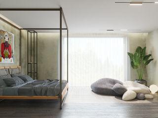 Сказочный дом ДОМ СОЛНЦА Спальня в эклектичном стиле